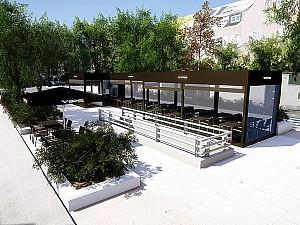 Terraza VIPS en Velazquez